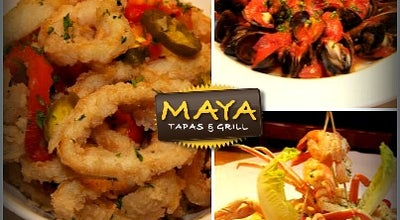 Photo of Tapas Restaurant Maya Tapas & Grill Lincoln Rd. at 809 Lincoln Rd, Miami Beach, FL 33139, United States