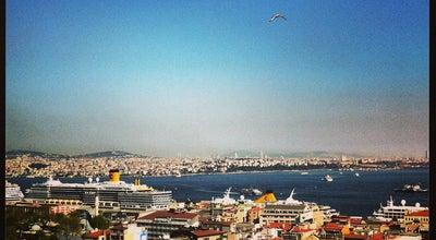 Photo of Roof Deck Georges Hotel Roof Terrace at Serdar-i Ekrem Cad. No:24 Galata Beyoğlu, Istanbul 34340, Turkey