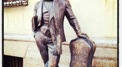 Photo of Outdoor Sculpture Памятник Остапу Бендеру at Ул. Итальянская, 4, Санкт-Петербург 191011, Russia