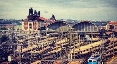 Photo of Train Station Praha hlavní nádraží | Prague Main Railway Station at Wilsonova 300/8, Praha 110 00, Czech Republic