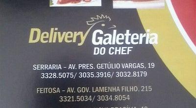 Photo of Fried Chicken Joint Galeteria do Chef at Av. Presidente Getúlio Vargas, 19, Maceió - Al, Brazil