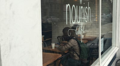 Photo of Vegetarian / Vegan Restaurant Nourish Cafe SF at 189 6th Ave, San Francisco, CA 94118, United States