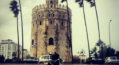 Photo of Monument / Landmark Torre del Oro at P. De Cristobal Colón, Sevilla 41001, Spain
