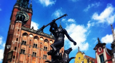 Photo of Outdoor Sculpture Fontanna Neptuna at Długi Targ, Gdańsk, Poland