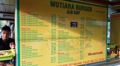 Photo of Burger Joint Mutiara Burger at Jalan Sultanah, Alor Setar 05350, Malaysia