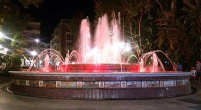 Photo of Park Parque de la Alameda at Marbella, Spain