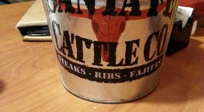 Photo of Steakhouse Santa Fe Cattle Co. at 4901 N Kickapoo Ave, Shawnee, OK 74804, United States