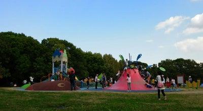 Photo of Playground わくわく池の冒険ひろば at 千里万博公園10, Suita 565-0826, Japan