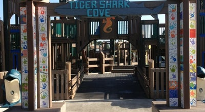 Photo of Playground Tiger Shark Cove Park at 13800 Greenbriar Blvd, wellington, FL 33414, United States
