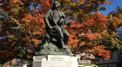 Photo of Historic Site Nathaniel Hawthorne Statue at Hawthorne Blvd., Salem, MA 01970, United States