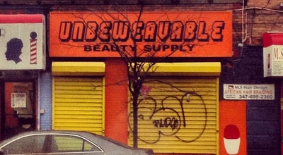 Photo of Salon / Barbershop Umbeweavable Beauty Supply at 455 Crescent St, Brooklyn, NY 11208, United States