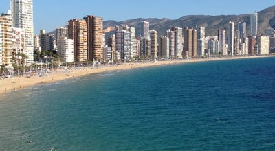 Photo of Beach Playa de Levante at Av Del Mediterráneo, Benidorm 03502, Spain