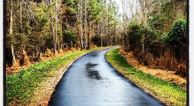 Photo of Trail Neuse River Greenway at Trailhead at Raleigh, NC 27616, United States