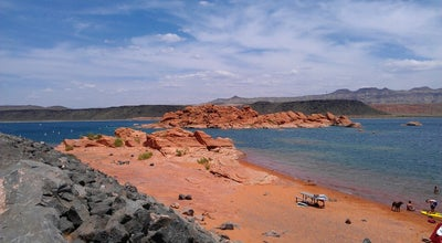 Photo of Lake Sand Hollow Reservoir at Hurricane, UT 84737, United States