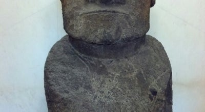 Photo of Science Museum Easter Island Stone Figure - Smithsonian's National Museum of Natural History at Constitution Avenue Nw, Washington D.C., DC 20560, United States