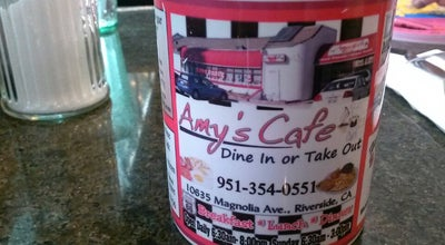 Photo of Cafe Amy's Cafe at 10635 Magnolia Ave, Riverside, CA 92505, United States