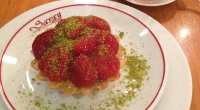 Photo of Dessert Shop Saray Muhallebicisi at Hobyar Mah. Reşadiye Cad. Dirlik Sk. No:5 Eminönü, İstanbul 34100, Turkey