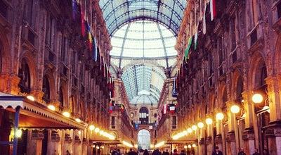 Photo of Monument / Landmark Galleria Vittorio Emanuele II at Piazza Del Duomo, Milan 20123, Italy