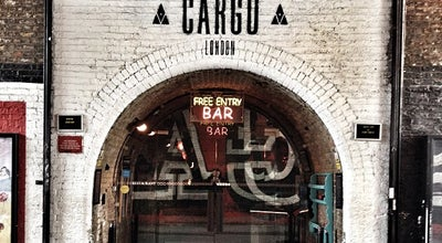 Photo of Pub Cargo at Kingsland Viaduct, London EC2A 3AY, United Kingdom