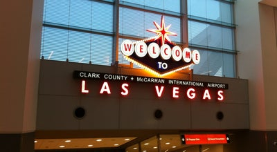 Photo of Airport Virgin America at Terminal 3, Las Vegas, NV, United States