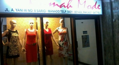 Photo of Boutique Butiq Rumah Mode at Lorong Gmpu, Kota Manado, Indonesia