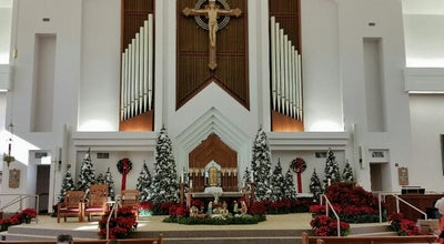 Photo of Church St. Francis Xavier Church at 444 Metairie Rd, Metairie, LA 70005, United States