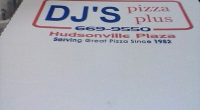 Photo of Pizza Place DJ's Pizza Plus at 3471 Kelly St, Hudsonville, MI 49426, United States