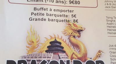 Photo of Chinese Restaurant Le Dragon d'Or at 21 Avenue Gustave Eiffel, Nice 06200, France