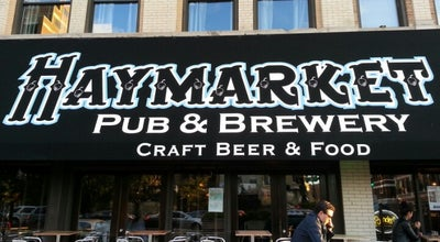 Photo of Brewery Haymarket Pub & Brewery at 737 W Randolph St, Chicago, IL 60661, United States