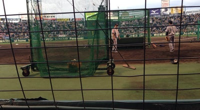 Photo of Baseball Field 阪神甲子園球場TOSHIBAシート at 甲子園町1-82, 西宮市, Japan
