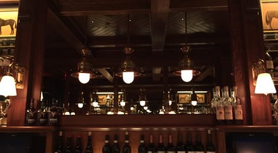 Photo of American Restaurant The Polo Bar at Ralph Lauren at 1 E 55th St, New York City, NY 10022, United States