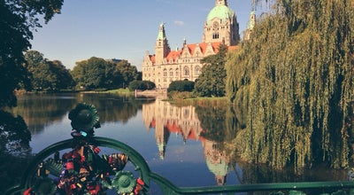 Photo of Park Maschpark at Willy-brandt-allee, Hannover 30159, Germany