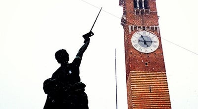 Photo of Monument / Landmark Torre dei Lamberti at Verona, Italy