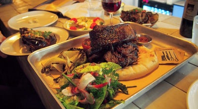 Photo of Middle Eastern Restaurant Berber & Q at Arch 338 Acton Mews, London E8 4EA, United Kingdom