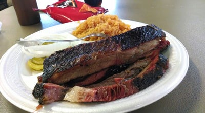 Photo of BBQ Joint Pete's Mesquite Grill at 2807 N Texas Blvd, Weslaco, TX 78599, United States