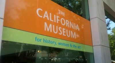 Photo of Museum The California Museum at 1020 O St, Sacramento, CA 95814, United States