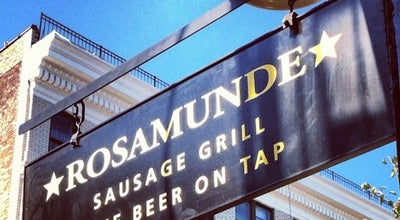 Photo of Hot Dog Joint Rosamunde Sausage Grill at 285 Bedford Ave, Brooklyn, NY 11211, United States