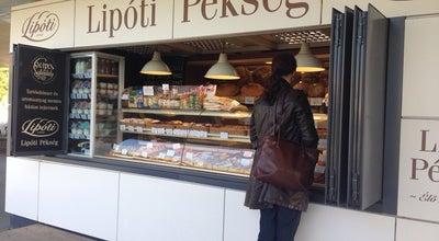 Photo of Bakery Lipóti Pékség at Hév Végállomás, Szentendre, Hungary