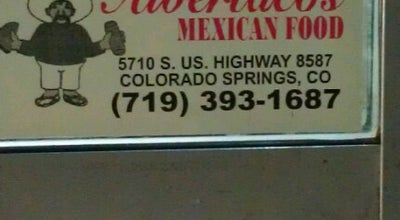 Photo of Mexican Restaurant Albertacos at 5710 S. Us Highway 85-87, Fountain, CO 80817, United States