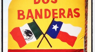 Photo of Mexican Restaurant Dos Banderas at 614 Main St, Garland, TX 75040, United States