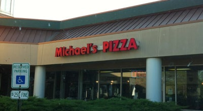 Photo of Pizza Place Michael's Pizza at 422 N Weber Rd, Romeoville, IL 60446, United States