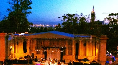Photo of Music Venue William Randolph Hearst Greek Theatre at 2001 Gayley Road, Berkeley, CA 94720, United States