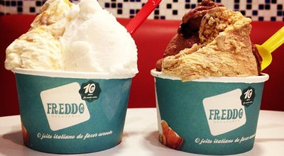 Photo of Ice Cream Shop Freddo Gelateria at Av. Higienópolis, 436, Londrina 86010-390, Brazil