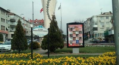 Photo of Monument / Landmark UEFA Kupası Anıtı at Bahçelievler, İstanbul, Turkey