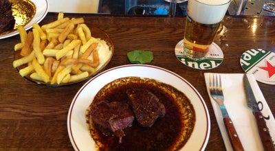 Photo of Steakhouse Café Loetje at Johannes Vermeerstraat 52, Amsterdam 1071 DT, Netherlands