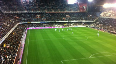 Photo of Soccer Stadium Camp de Mestalla at Av. De Suècia, València 46023, Spain