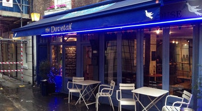 Photo of Belgian Restaurant The Dovetail at 9-10 Jerusalem Passage, London EC1V 4JP, United Kingdom