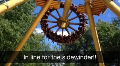 Photo of Theme Park The Sidewinder Ride at Altoona, IA 50009, United States