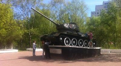 Photo of Monument / Landmark Танк Т-34-85 at Ул. Мира, Вологда, Russia