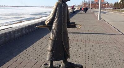 Photo of Monument / Landmark Памятник Чехову at Набережная Р. Томи, Томск, Russia